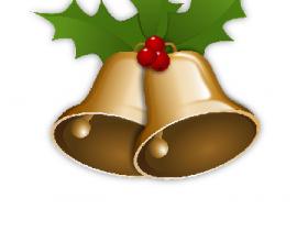 Dzwonki z ostrokrzewem