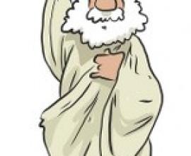 Rysunek przedstawiający starożytnego Greka